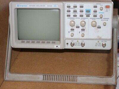 Gw Instek Gds-830 Digitizing Oscilloscope 100mhz 2-ch. Digital 100mss
