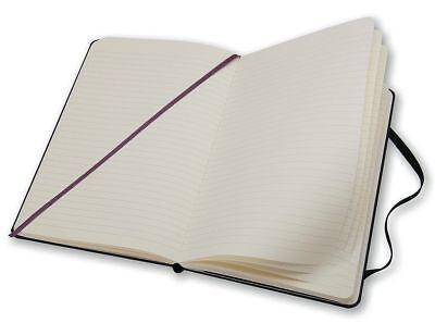 Moleskine Classic Notebook Large Ruled Black Hard Cover 5 X 8.25 5in X 8 14
