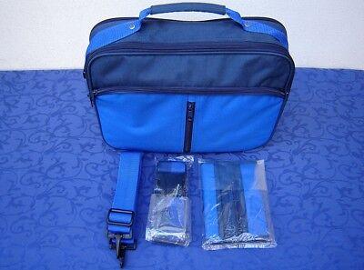 Umhängetasche Schultertasche NEU Blau Notebooktasche 14