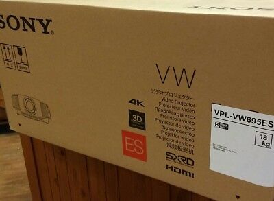 Sony VPL-VW695ES Brand New 4K SXRD Home Cinema Projector FREE 4K HDMI CBL