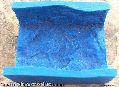 Concrete Cement Landscape Curbing Granite Belgium Block Texture Imprint Stamp