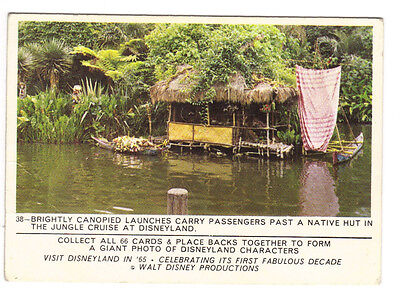 1965 Disneyland Card #38 Jungle Cruise Puzzleback