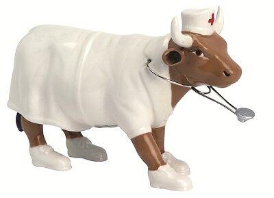 Cow Parade Figurines Medium Ceramic Nurse Nightencow 47357 Cowparade UK