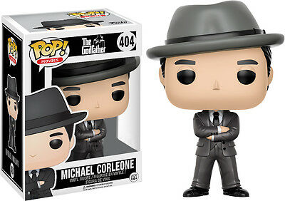 Michael Corleone with Hat The Godfather Pate POP! Movies #404 Vinyl Figur Funko