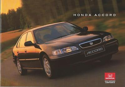 Honda Accord UK Market Brochure Jan 1996 inc 1.8i 2.0i S/LS/ES 2.2i VTEC 2.0 TDi