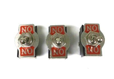 3 BBT 2 Position Marine Grade On/On 15 amp Heavy Duty Toggle Switches