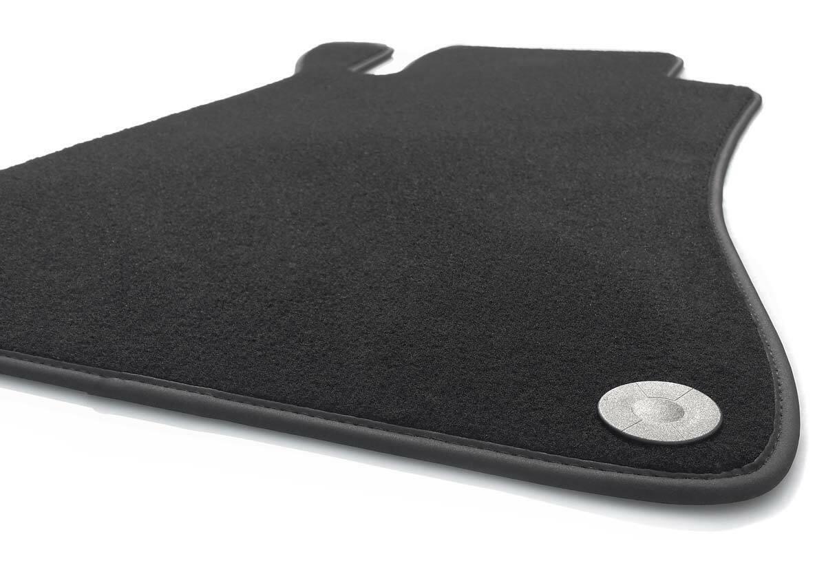 Velours schwarz Fußmatten passend für MERCEDES E-Klasse W207 A207 Cabrio