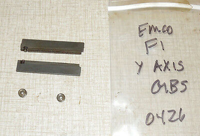Emco F1 Cnc Mill Y Axis Gib Components Pcmill 50 55  0426