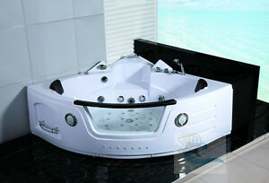 Awesome New 2 Person Jacuzzi Whirlpool Massage Hydrotherapy Bathtub Tub Indoor    White