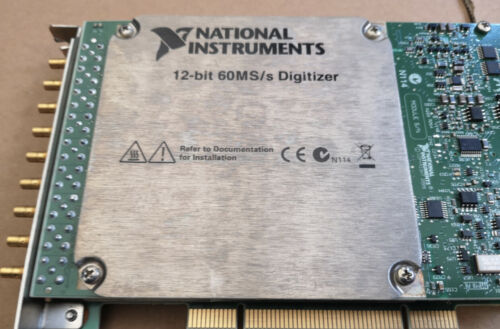 100% TEST NI PCI-5105 National Instruments NI PXI-5105 12-Bit 60MS/s Digitizer
