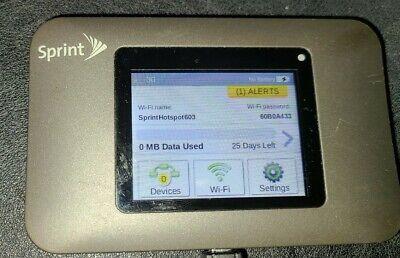 Pre Owned Clean ESN Working /& Reset! Mobile Hotspot Sprint Netgear Zing