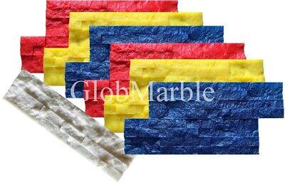 Concrete Vertical Stamping Mats 7 Pc Set Wsm 10502. Decorative Concrete Walls