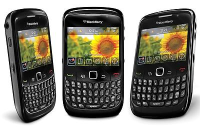 Blackberry Curve 8520 Black New Mobile Phone Smartphone Qwerty Unlocked Sim Free