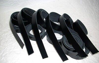10 Lederriemen schwarz