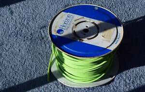 Fluorescent Instrument Cable on Spindle . Approx 40-50m Goolwa Alexandrina Area Preview