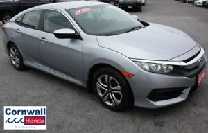 2016 Honda Civic Sedan LX Locally Purchased, One Owner, Meticulo