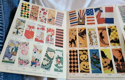 Vintage 1920s Dennisons Decorated Crepe Paper and How to Use It - Color Images