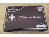 Walser 44262 KFZ Verbandskasten schwarz nach DIN 13164