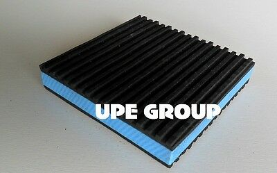 1 Anti Vibration Pads Isolation Dampener Super Heavy Duty Blue 4x4x78 Equipment