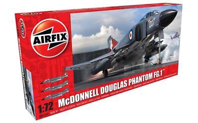 Airfix McDonnell Douglas Phantom FG.1 1:72 Scale Plastic Model Airplane A06016