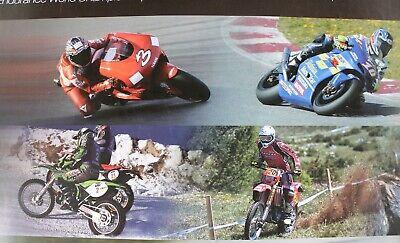 Affiche huile motul moto gp ice endurance enduro france trial motocross 2002