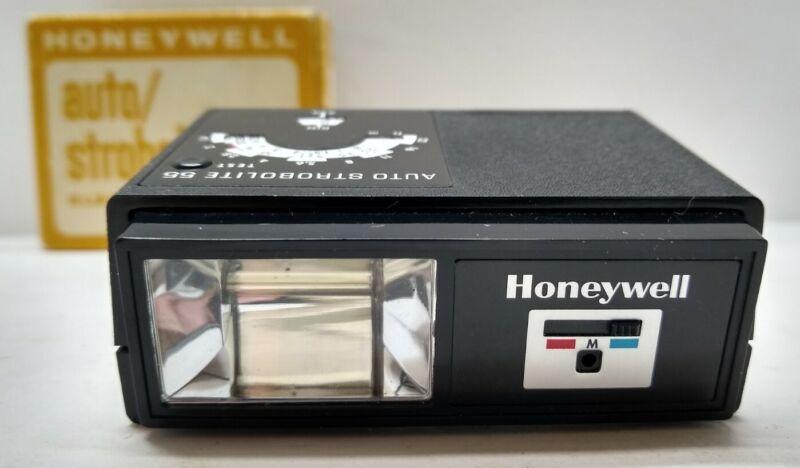 Honeywell Auto / Strobolite 55 Compact Shoe Mount Flash