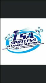 Welcome to LSA Spotless Cleaning Services