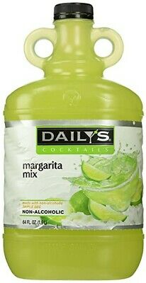 Dailys Margarita Mix64oz Non-alcoholic Real Fruit Juice