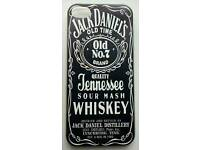 JACK DANIELS BLACK RUBBER CASE COVER FOR APPLE IPHONE 6 & 6S