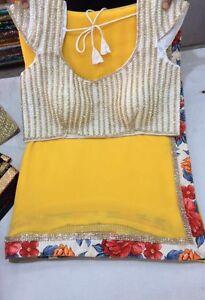 A brand new saree
