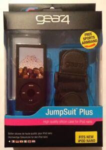 GEAR4 JumpSuit Plus iPod Nano 4th Generation Gen 2x Case +Sports Armband Lanyard