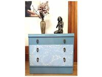 Vintage Stunning Shabby Chic cottage Chest of Drawers - Free Delivery