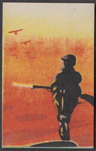 wq1 Japanse Militaristic propaganda 1930s Matchbox Label guard soldier