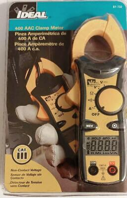 Ideal 400 Aac Clamp Meter 61-732 New