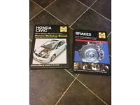 Honda Civic 01-05 Haynes manual bundle