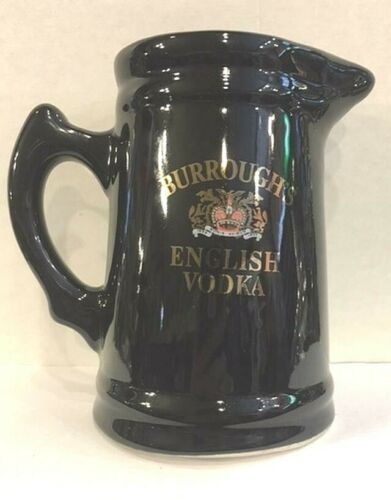 BURROUGHS ENGLISH VODKA WATER PITCHER-USED