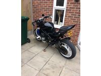 Zzr600 streetfighter project