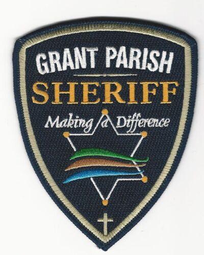 Grant Parish Sheriff State Louisiana LA NEW