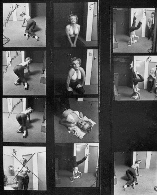 Marilyn Monroe - A Small Contact Sheet !!!