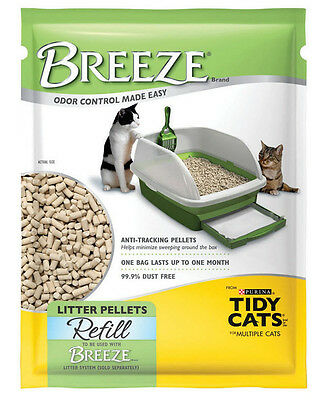 6x Tidy Cats Breeze Litter Pellet Refill 3.5 lb Packages(Total 21 lbs)