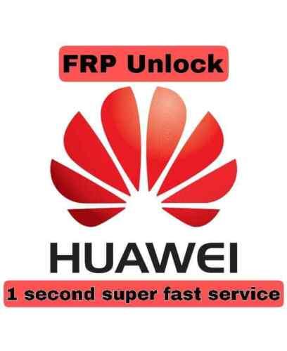 Huawei FRP (google lock) Unlock 1 second super fast service