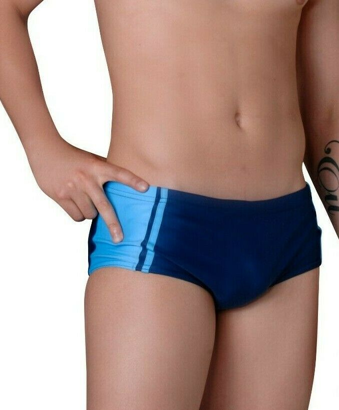 Brazil Herren Badehose Badeslip CARIOCAS mit Reißverschluss Gr. S (42-44) *NEU*