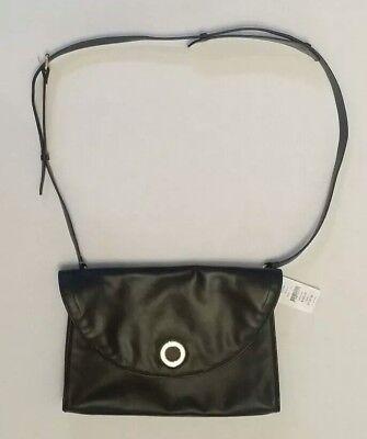Halston Heritage Designer black Leather Purse/Handbag high end at discount...