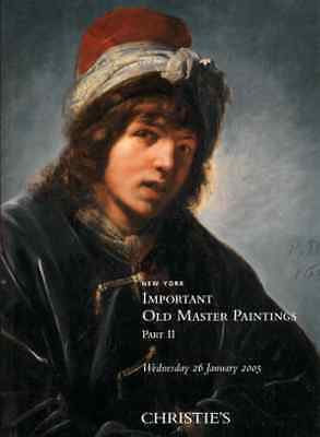 CHRISTIE'S IMPORTANT OLD MASTER PAINTINGS