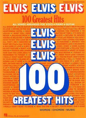 Elvis Presley – 100 Greatest Hits Noten für Klavier Gitarre Gesang