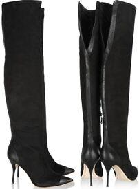 Sophia Webster Hallie over the knee boots size 3
