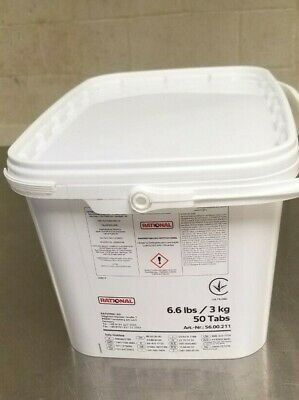Rational 56.00.211 Scc Combi Oven Rinse Tablets Tub Of 50