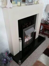 Adam Electric Fireplace Suite