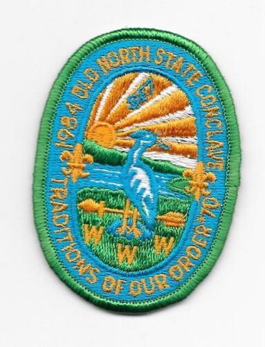 1984 Patch SE-7 Section Conclave North Carolina Boy Scouts SR-7B Lodge 70