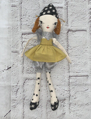The Land Of Nod Whimsical Plush Fairy Doll EUC